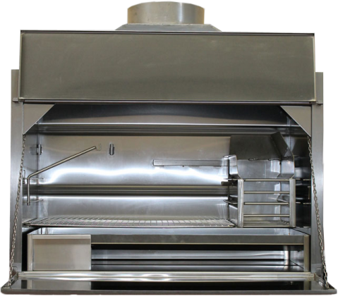 304 Stainless Steel Braais - Deluxe Built-in