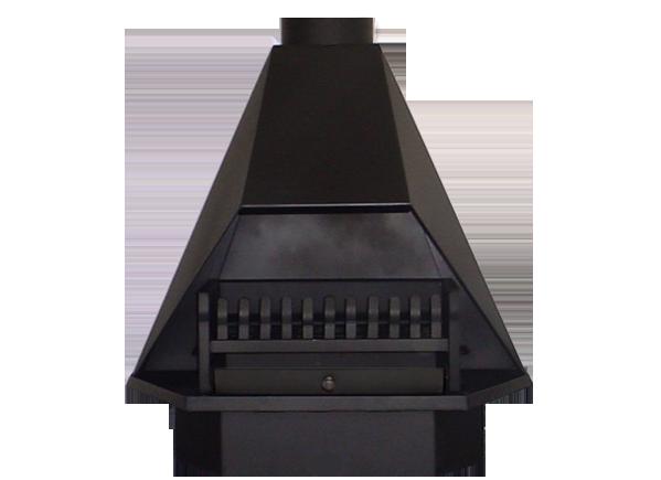600mm Half Hex Fireplace