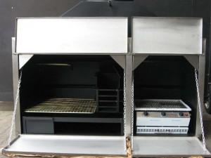 1500-COMBO-304SS-DOORS-GAS-BBQ
