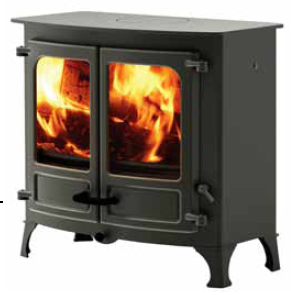 Island 3 Slow Combustion Fireplaces