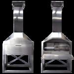 1200 Freestanding Patio Braai 430 Stainless Steel